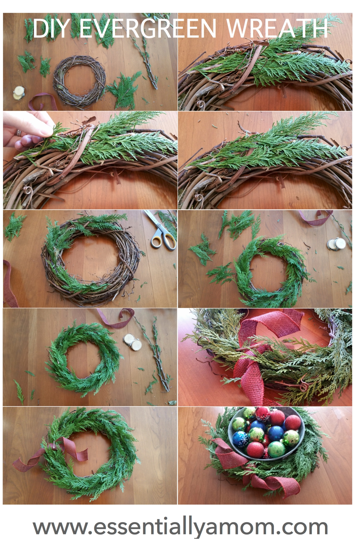 Evergreen Wreath jpg