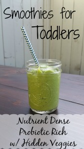 TODDLER SMOOTHIES